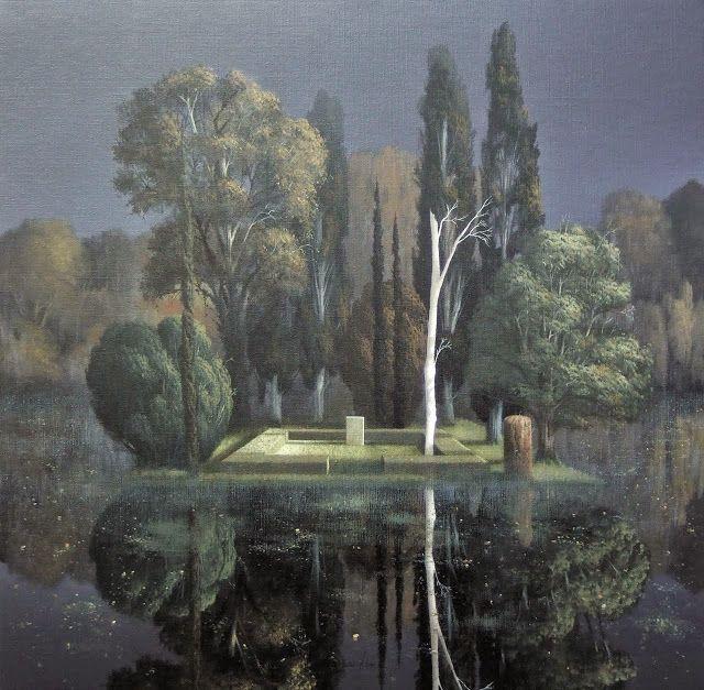 Arnold Böcklin (1827-1901), Stèle Funéraire - 1880