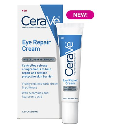 I have been using this on my eyes upon washing my face and in the mornings...best stuff! CeraVe Eye Repair Cream