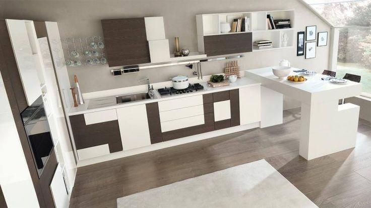 Cucina Lube - modello Creativa. #madeinitaly #casa #dreamhouse #arredamento #design