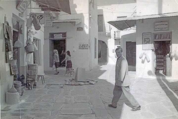 1965 #Paros #Greece #Beautiful #Old #Vintage #Vacation #Summer #BlackAndWhite #Culture