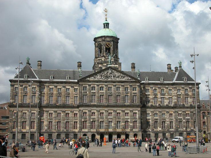 Jacob van Campen ratusz w Amsterdamie