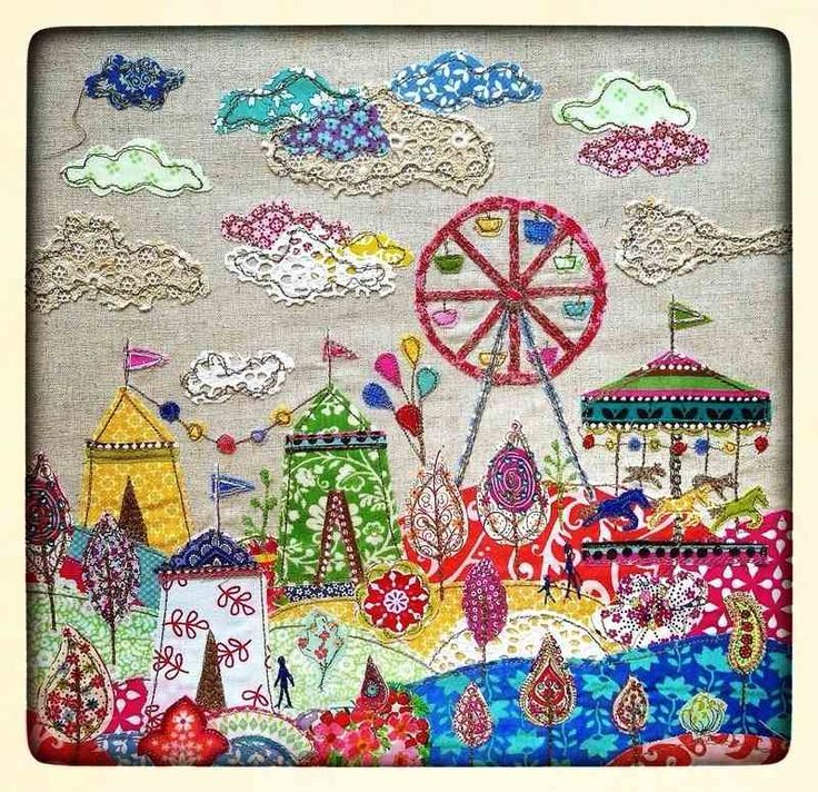 lucy fairground, Lucy Leverson  ~  I want to photograph favorite Wysocki and other puzzles, and then do this with them!