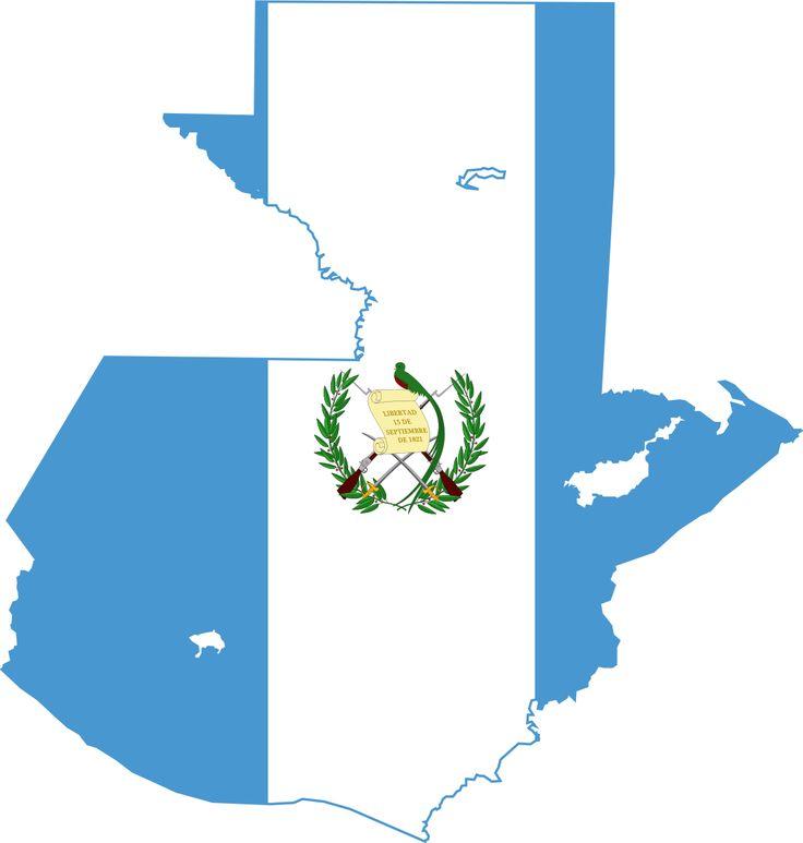 File:Flag map of Guatemala.svg