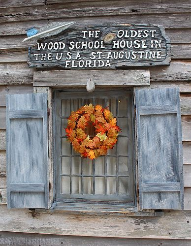 Top things to do in St. Augustine, Florida: Visit the St. George Street, a pedestrian mall with tons of shops and historical sites, like the Oldest Wood Schoolhouse in the USA.