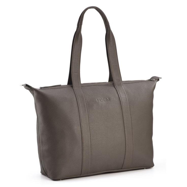MORINI MOCO GRAIN LEATHER BAG // GREY http://morini.pl/