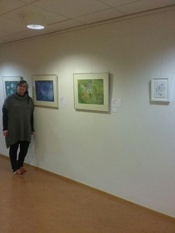 Taidenäyttely Nurmon kirjastossa  1. - 31.3.2017, Nurmontie 20, Nurmo, Seinäjoki, kirjaston aukioloaikoina. Art Exhibition at Nurmo Library.