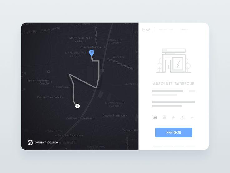 Daily UI #49 - Navigation