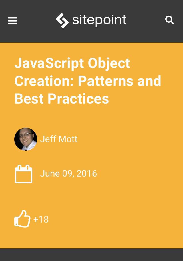 JavaScript Object Creation: Patterns and Best Practices