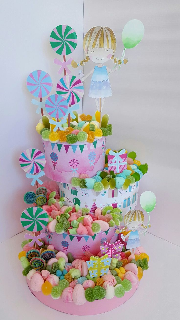 #TartasdeChuches #TartasdeGolosinas #sweets #candies #cumplesniñas