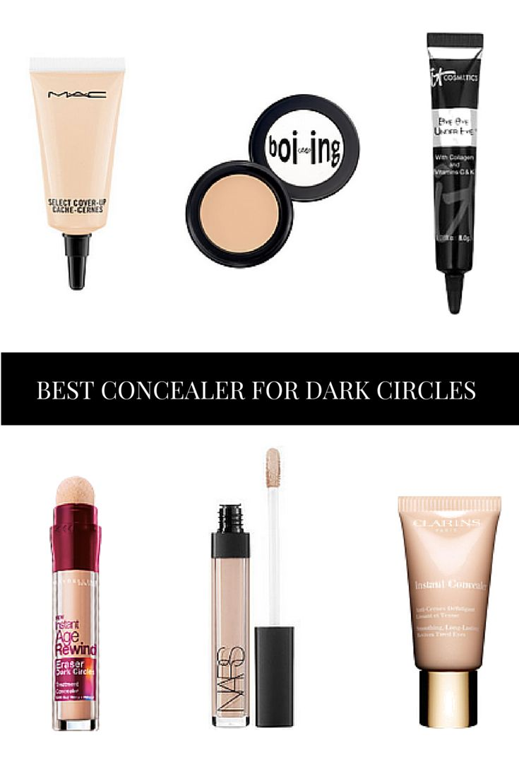 Dark circles can be caused by a variety of reasons... The best concealer for Dark Circles