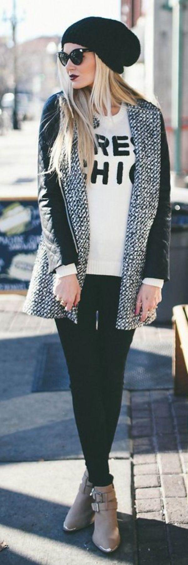 40 Edgy Fashion Ideas For Women | http://fashion.ekstrax.com/2015/02/edgy-fashion-ideas-for-women.html