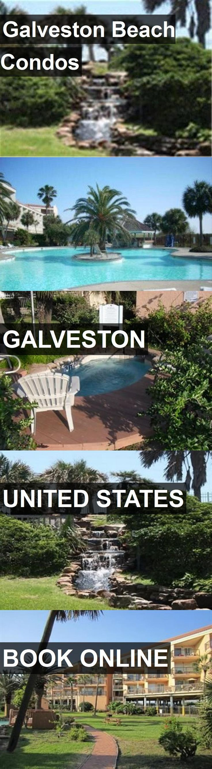 Hotel Galveston Beach Condos in Galveston, United States. For more information, photos, reviews and best prices please follow the link. #UnitedStates #Galveston #travel #vacation #hotel