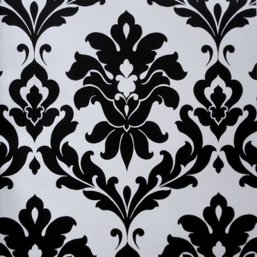A traditional damask from www.wallpapershop.com.au (Murrays Interiors).