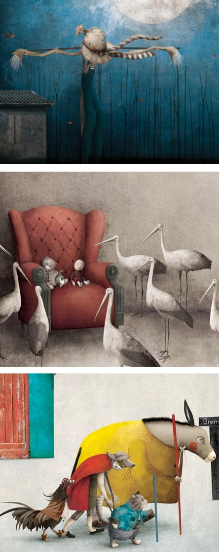 Details of illustrations by Mexican artist Gabriel Pacheco. gabriel-pacheco.b...