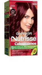 5562 - FRESA Castaño Claro Rojizo Nacarado - Nutrisse Coloríssimos - Garnier