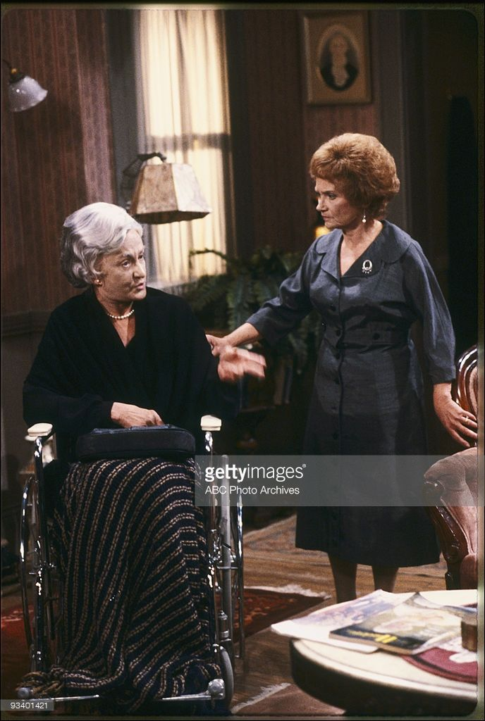 GIRLS - 'One for the Money' - Season Three - 9/26/87, Sophia's (Estelle Getty, right) latest get-rich-quick scheme prompts Sophia to recall a memory from 1954. Bea Arthur also stars.,