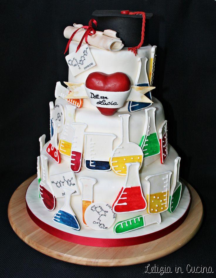 Pinterest Chemistry Cakes