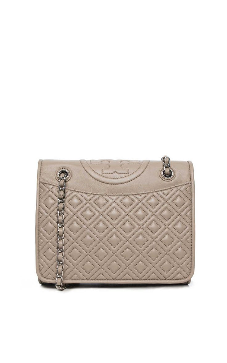 Handväska Fleming Medium Bag FRENCH GREY - Tory Burch - Designers - Raglady