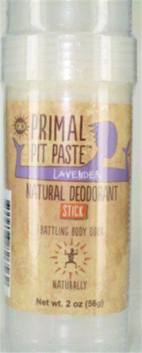 Primal Pit Paste Stick Natural Deodorant Lavender 2 Ounces Primal Pit Paste,http://www.amazon.com/dp/B00FNJW8FS/ref=cm_sw_r_pi_dp_l3Rvtb0J1K7X6JAD