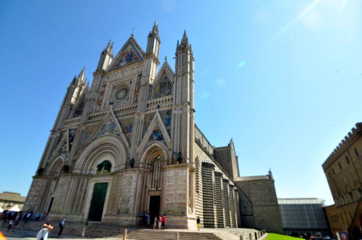 Due facciate del Duomo di Orvieto.