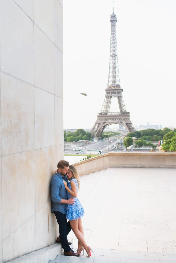 A girl is complete when she has the right guy and the perfect shoes. Louboutins are the real deal #parisphotographer #eiffeltower #parisengagement  www.theparisphotographer.com