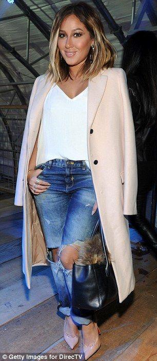 Adrienne Bailon + jacket