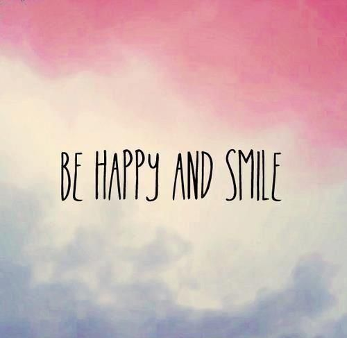 Be Happy And Smile #Happy, #Smile