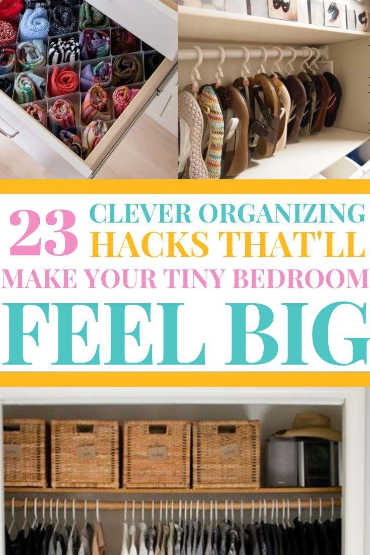 27 Bedroom Organization Hacks That Ll Make You Look Like A Genius