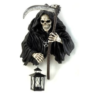 Grim reaper candle