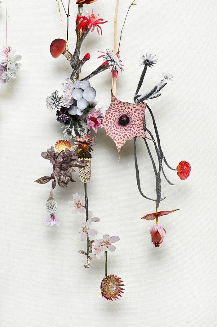 Flower Construction #25 by Anne Ten Donkelaar