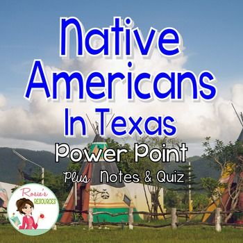 This is a great presentation about Indians in Texas. It tells how and why they came across the Bering land bridge. It details Indian tribes that lived in Texas, and it tells…