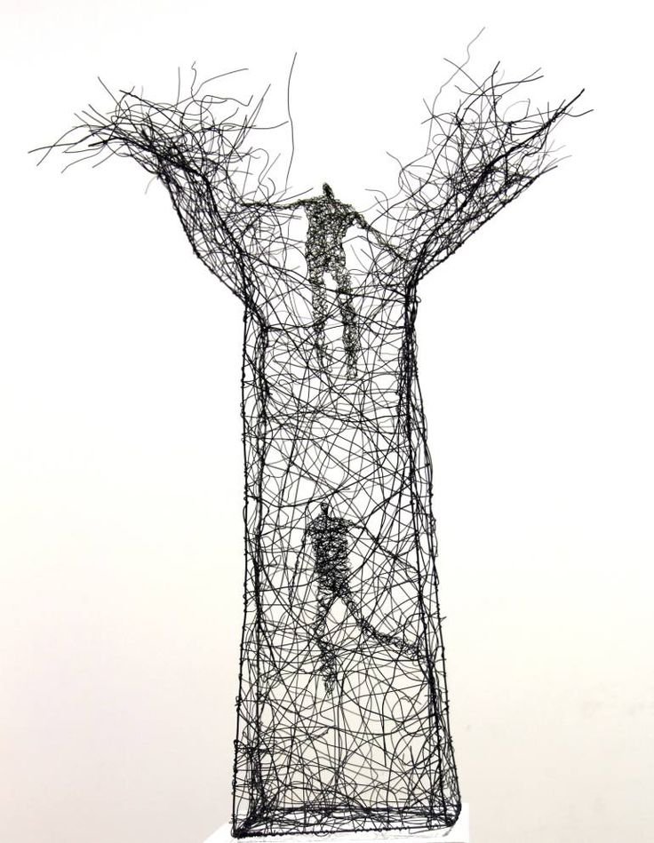 124 best Wire art images on Pinterest | Wire sculptures, Iron and ...