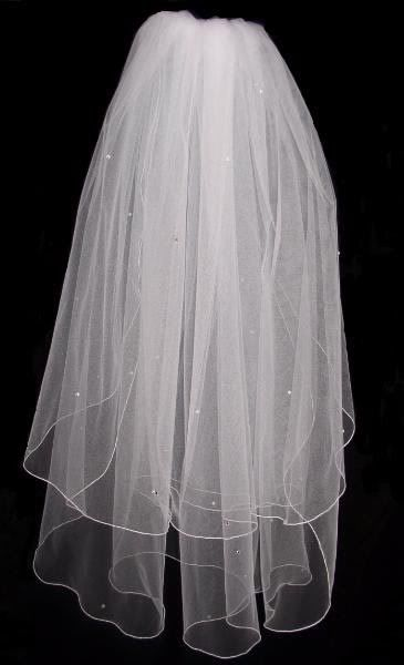 New 2 tier Swarovski diamante Ivory veil - wedding planning discussion forums