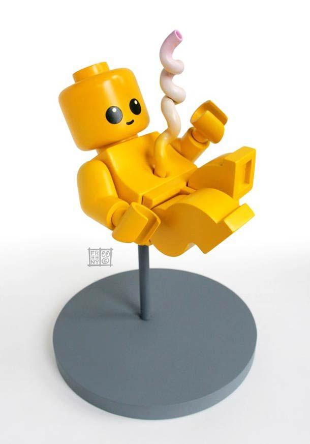 LEGO Fetus by Jason Freeny #LEGO #Fetus