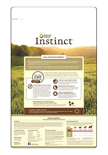 Nature's Variety Instinct Grain Free Beef & Lamb Meal Formula Dry Dog Food, 25.3 lb. Bag   Check it out-->  http://mypets.us/product/natures-variety-instinct-grain-free-beef-lamb-meal-formula-dry-dog-food-25-3-lb-bag/  #pet #food #bed #supplies