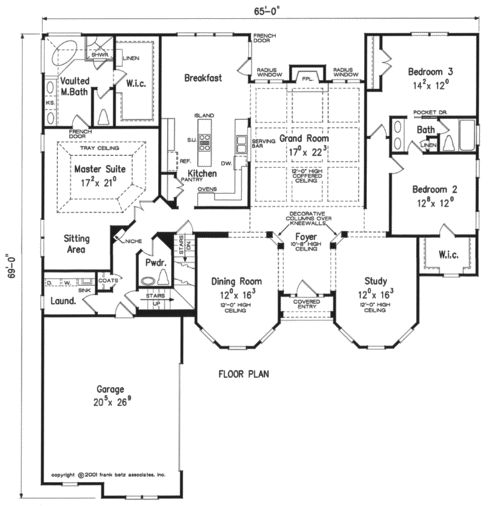 Home plans and house plans by frank betz associates home for Frank betz floor plans