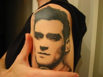morrissey tattoos | october 2007 morrissey tattoo after seeing morrissey on tour for