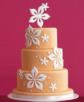 Fondant Wedding Cakes