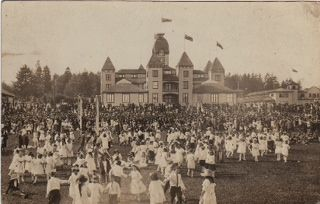 1907 May Pole Dancing.  New Westminster