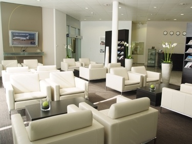 Spruced Up Zurich ExecuJet Europe Customer Lounge