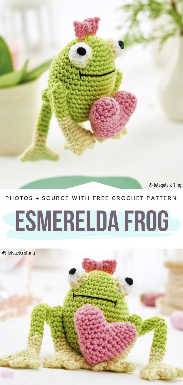 Amigurumi Love Heart Free Crochet Pattern   1260x600