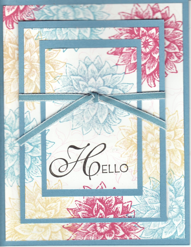 Best Triple Time Stamping Cards Images On