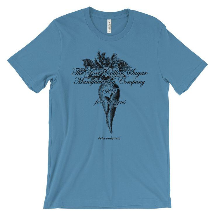 Unisex Sugar Beet short sleeve t-shirt