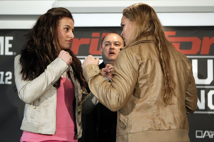 https://flic.kr/p/bzPyck | Miesha Tate vs Ronda Rousey | Photo by: Esther LIN / STRIKEFORCE