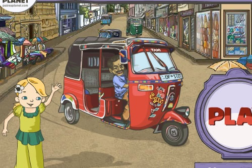 Play online at:  http://www.freetaxigames.net/game/828/Tuk-Tuk-Taxi-Dash.html  This is a game that deals with taxi type of driving, so you are in the role of the one that does the overall thing! The mission is located in the streets of Sri Lanka, where the whole traffic is almost jammed and you will be put on a real test to show your skills in driving people to their wanted location. Let's see how efficient can you be in achieving that! So, start taking passengers and prove yourself!