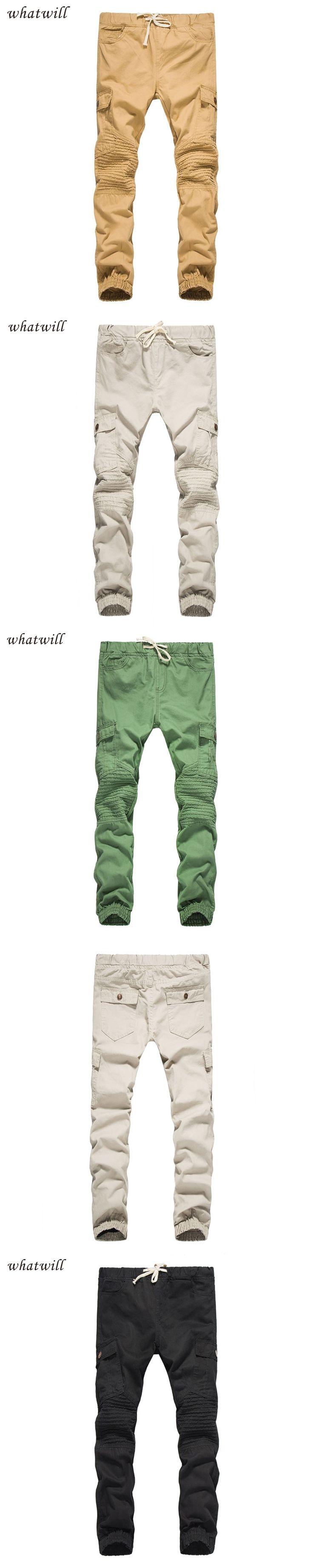 New 2017 men pant casual pants hip hop trousers sweatpants fashion pantalon homme long joggers cargo pants