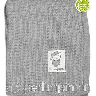 Photo of the Bamboo Knitted Throw Blanket - Grey by Perlimpinpin, bought this and its solo soft