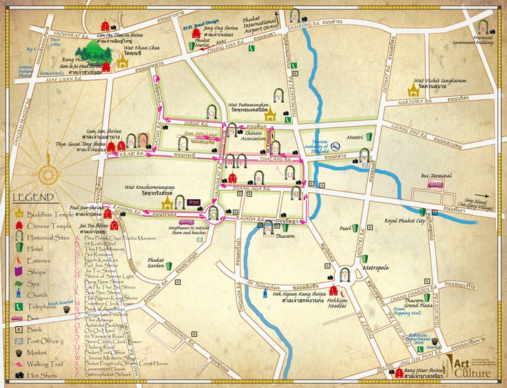 If you want to find all the hidden treasure of Phuket... try the Treasure Map
