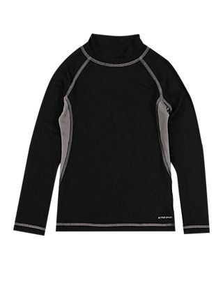 Boys' Base Layer Long Sleeve Top | M&S