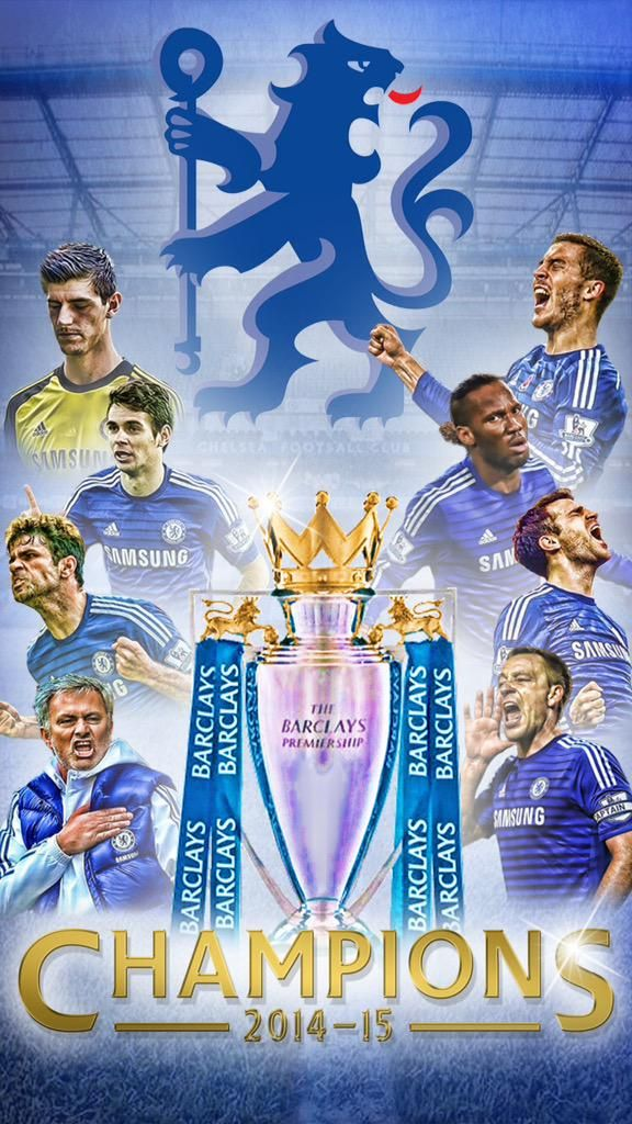 CHELSEA FOOTBALL CLUB Premier League Champions 2014 2015